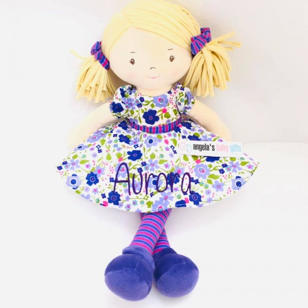 PEGGY PERSONALISED RAG DOLL