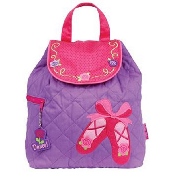Ballet Personalised Stephen Joseph Quilted Backpack