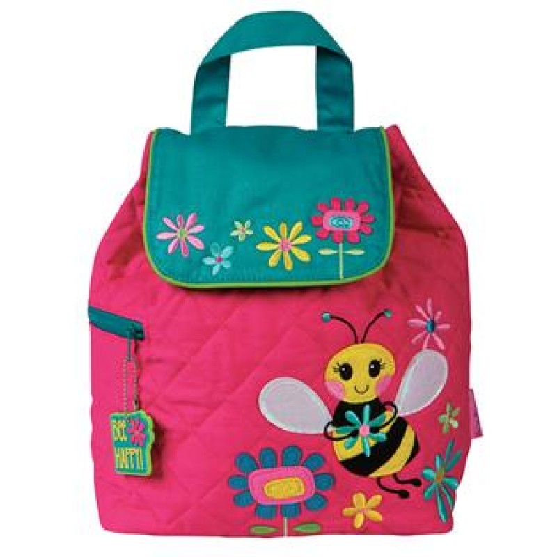 Angel Baby Gifts Uk : Bee personalised stephen joseph quilted backpack