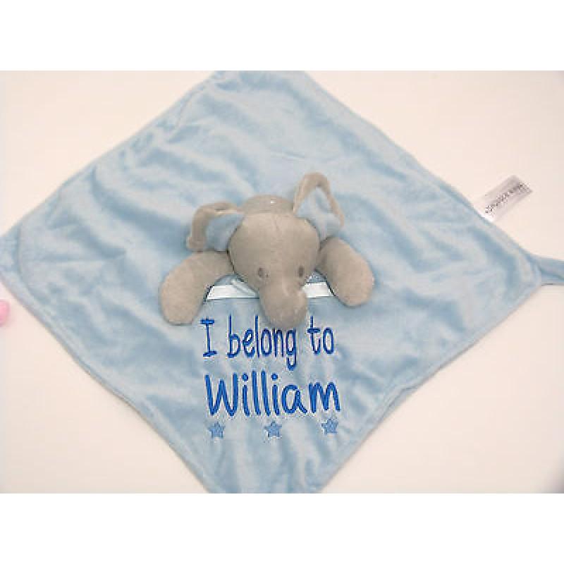 c24e57dd761537 Elephant Personalised Comfort Blanket