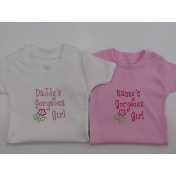 Relative Gorgeous Girl Baby T Shirt