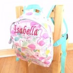 FLAMINGO PERSONALISED MINI GIRLS BACKPACK