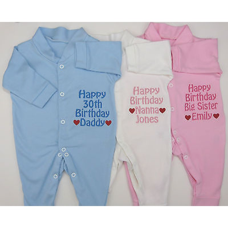 Personalised Happy Birthday Daddy Mummy Nanny Grandad Sister