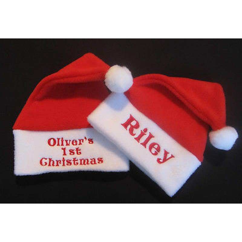 Personalised Baby Santa Hat 6a865e8d0f5