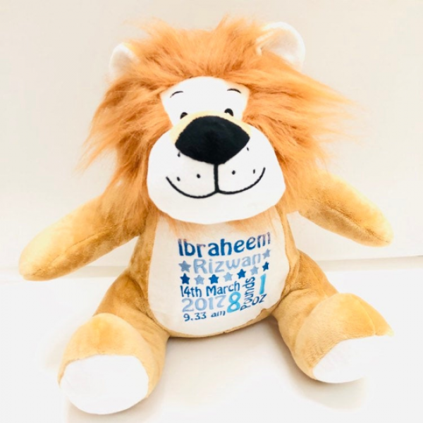 LION PERSONALISED MUMBLES