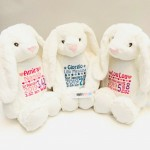 BUNNY PERSONALISED CREAM MUMBLES