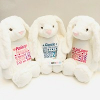BUNNY PERSONALISED WHITE MUMBLES