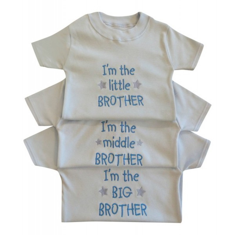 202d79a22 I'm The Little / Middle / Big Brother Tee Shirt